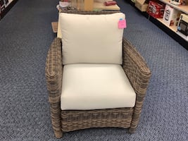 New Del Ray Outdoor Chair with Cushions