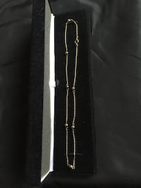 "14K Real Gold 15"" Chain Necklaces ,   Pick up near Rockville MD Derwood, 20855"