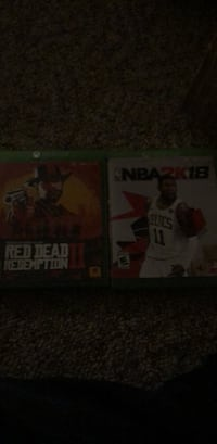 Xbox one red dead redemtion 2 and nba 2k18 Jamesville, 13078