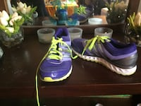 purple-and-green Nike running shoes Winnipeg, R3T 2J9
