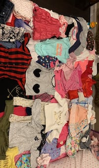 12month-24 Like New Condition Girl Clothes and size 5-6 Sandals Nashville, 37214