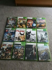 Xbox 360 games $10 each Barrie, L4N 8R2