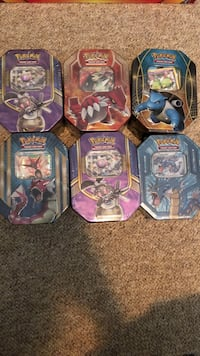six Pokemon trading card cases Surrey, V3V