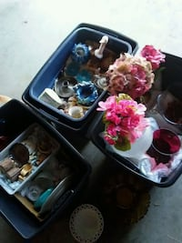 3 bins of collectables, knick knacks so on Spokane Valley, 99206