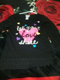 black and pink Minnie Mouse print long sleeve shir Bakersfield, 93304
