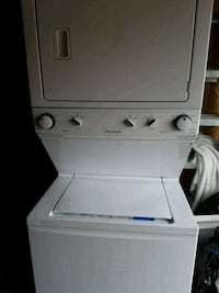 white stackable washer and dryer Taylorsville, 30178