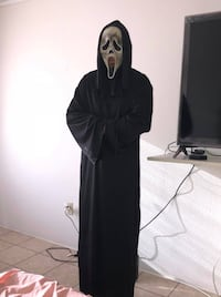 Ghost face scream Halloween costume  Edinburg, 78539