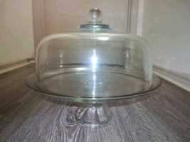 Cake Plate Dome & Punch Bowl