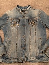 Adorable Limited Too Jean jacket. Size youth medium. Super cute!!