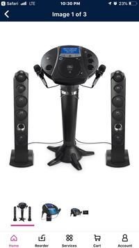 Black and gray home theater system Enola, 17025