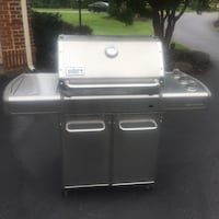 Weber Stainless Steel Genesis Natural Gas Grill Chantilly, 20152