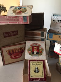 Cigar boxes Southport, 28461