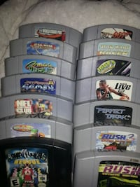 14 N64 games take all for $120 2213 mi