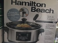 black and gray Hamilton Beach slow cooker box Bowie, 20716