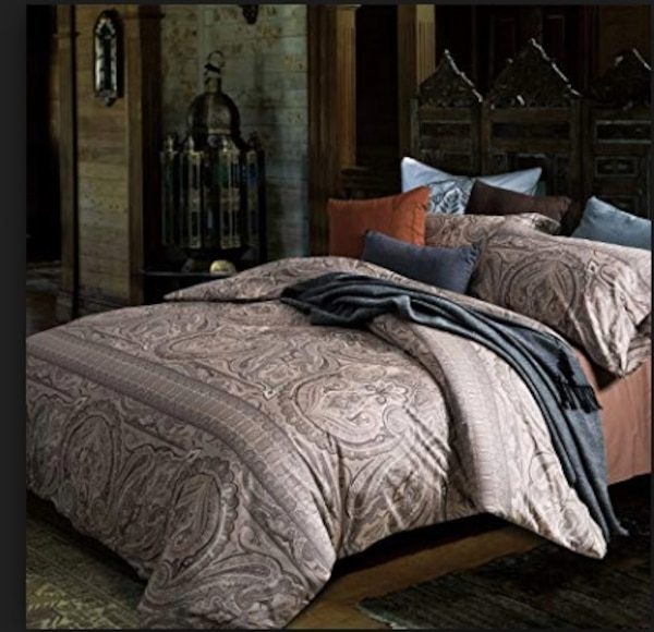 3 Pc king size duvet cover set brand new