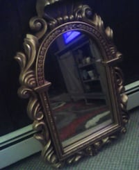 Large mirror  gold frame Seneca, 16346