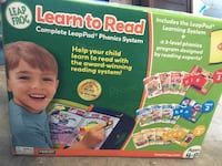Leap Frog Learn to read San Francisco, 94112