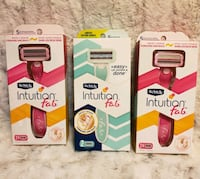 Schick Intuition F.A.B. Razor and Cartridges  Newburgh, 12550