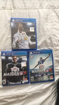 Four sony ps4 game cases Houston, 77084