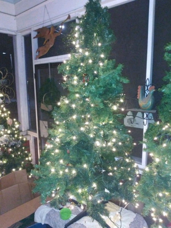 Used Christmas trees n decor. 7 foot have several from for sale in Atlanta - letgo