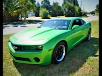 2011 Chevrolet Camaro, Green/Black, Clean Carfax Oakland Park