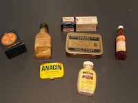Antique Medical Supplies for display Ypsilanti, 48198