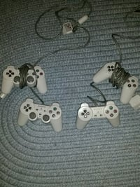 Four Playstation 1 Controllers Fairfax