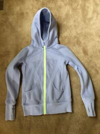gray and yellow zip-up hoodie Ajax, L1S
