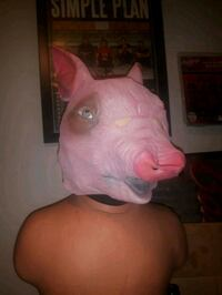 PIG MASK HALLOWEEN Surrey, V3R 6X9