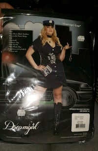Plus Size Police Halloween Costume  Airdrie