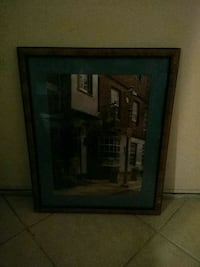 black wooden framed painting of house Fairfield, 94533