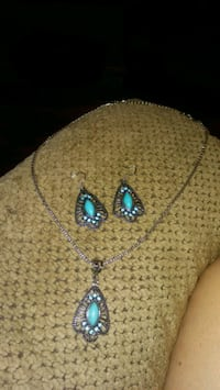 Turquoise jewelry set 1 Greeneville, 37743
