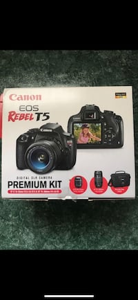CANON EOS REBEL T5 PREMIUM KIT Woodbridge, 22193