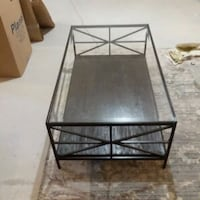 black metal framed glass top coffee table Butler County, 45011