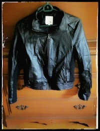 Lady's Faux Leather Jacket Camp Hill, 17011
