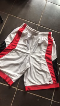 White and red champion shorts Surrey, V3W 3H2