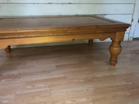 Solid wood coffee table. Corryton, 37721