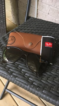 Speckle framed Ray-ban sunglasses with case
