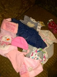 Babygirl bundle brand new with tags 3month old Stockton, 95215