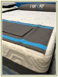 New Queen Set - Foundation & Mattress - Warranty - In the Plastic Manassas
