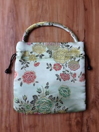 white and pink floral tote bag Goleta, 93117