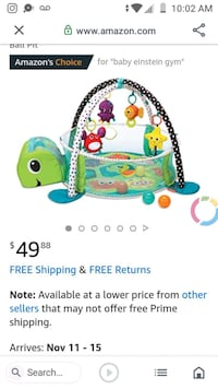 Turtle Play mat ball pit