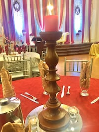 Beautiful tall carved wooden table centerpieces  Brampton, L6X 4W7