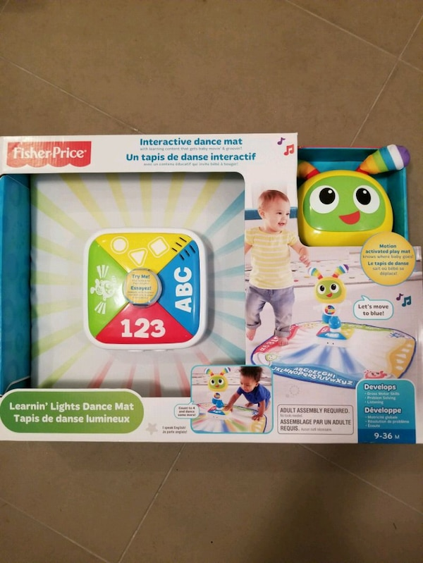 Fisher price Learning lights Dance mat