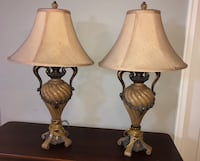 Set of Beautiful Table Lamps Frederick