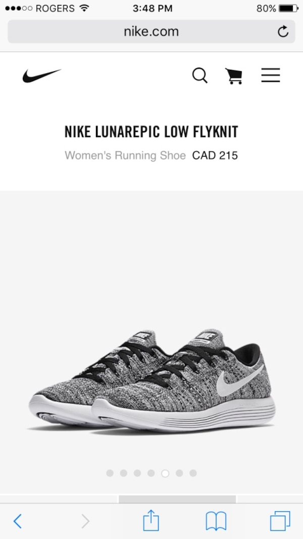d55db3eb451ce Used Brand New women s Nike lunarepic low flyknit for sale in Port ...