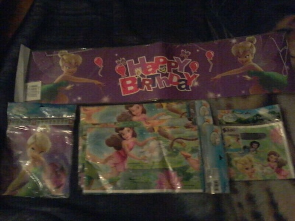 Tinker bell party set