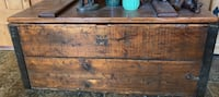 Solid Antique Wooden Blanket Box from British Columbia Calgary, T3Z 2A6