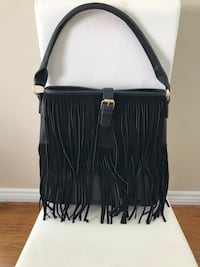 Ladies leather and fringe purse. NEW! Los Angeles, 90066