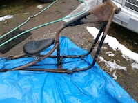 blue and black camping chair Surrey, V3W 3H3